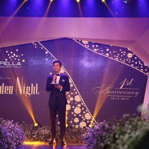 Golden Night party -  MC Phan Anh tai Ky niem 1 nam CGH