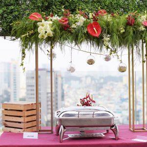 Capella tiec Buffet Rooftop  03