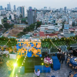 Hung thinh Corp - CEO Birthday Rooftop Party