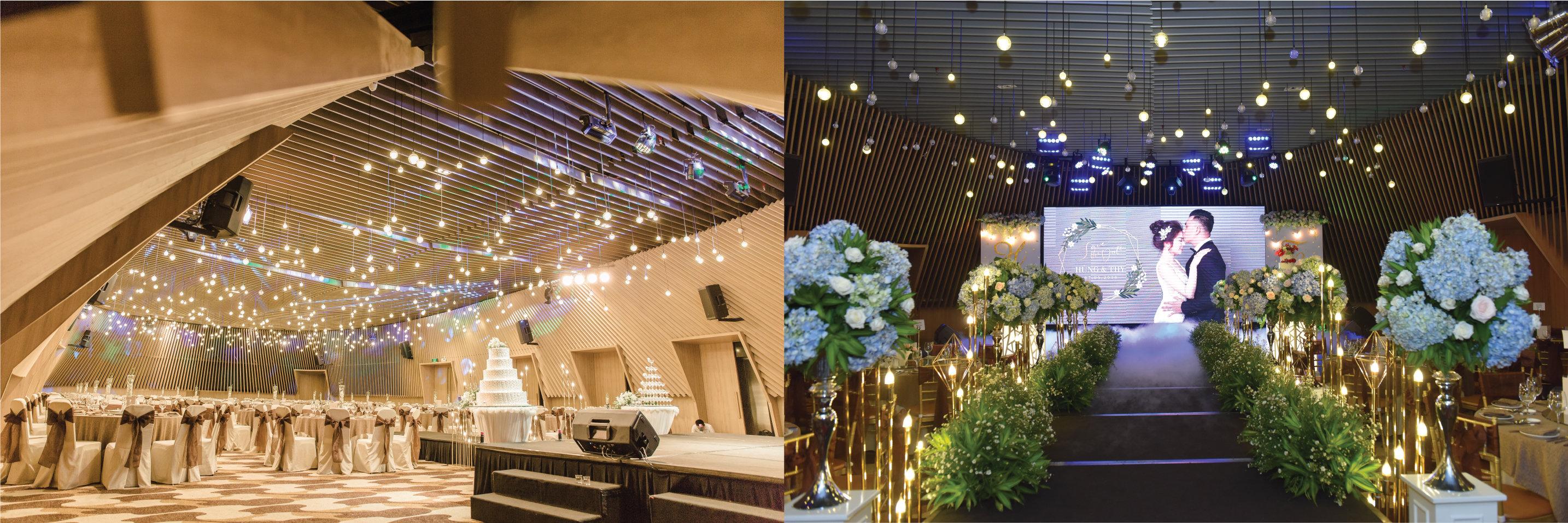 Trung tâm tiệc cưới ở Sài Gòn 3 - Capella Gallery Hall