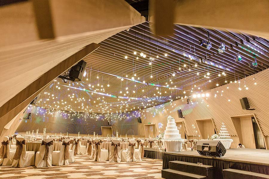 Không gian tổ chức tiệc cưới đẹp 5