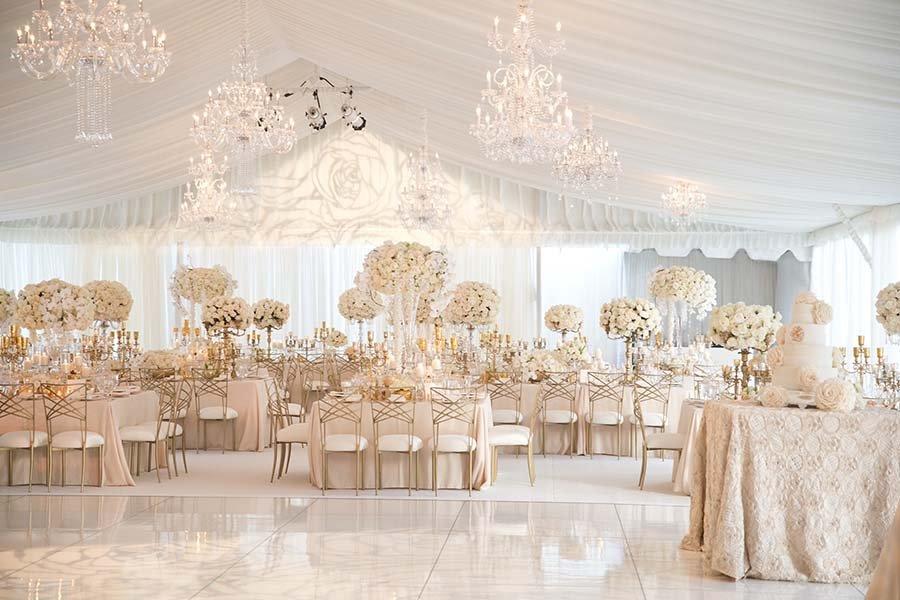 Không gian tổ chức tiệc cưới 1