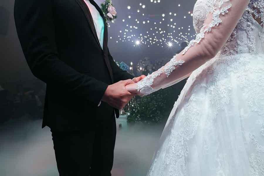 Không gian tổ chức tiệc cưới đẹp 4